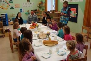 Tradicionalni slovenski zajtrk v vrtcu