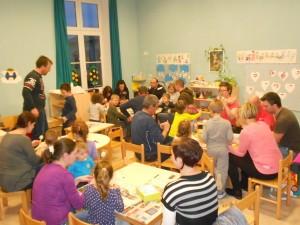 Ustvarjalna delavnica s starši in otroci