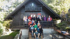 Prvi družinski planinski izlet na Kozlek uspel