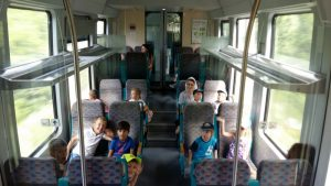 Z vlakom v Pivko
